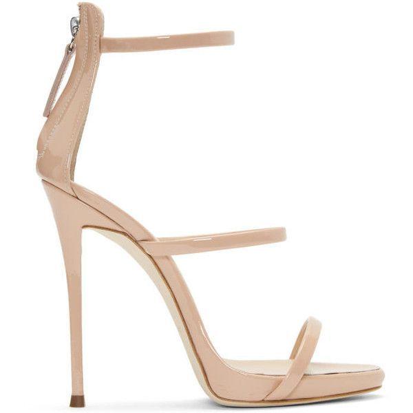 Giuseppe Zanotti Pink Patent Coline Sandals QpYqNZU