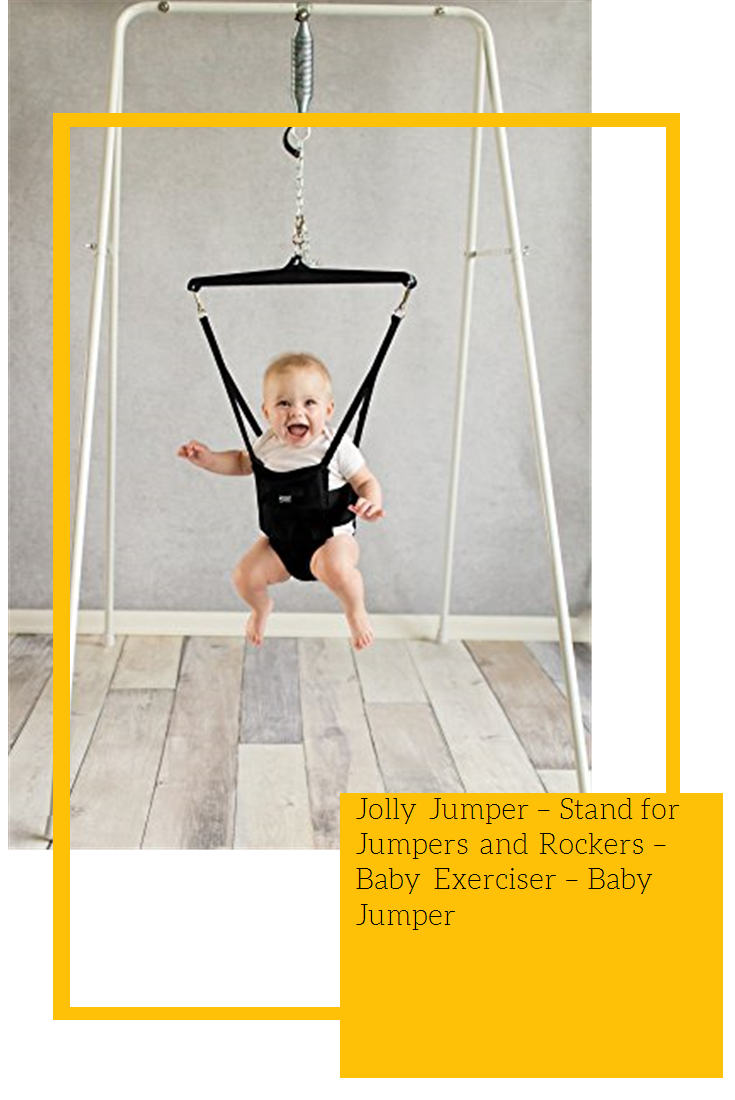 Baby Jumper Stand for Jumpers and Rockers Baby Exerciser Jolly Jumper