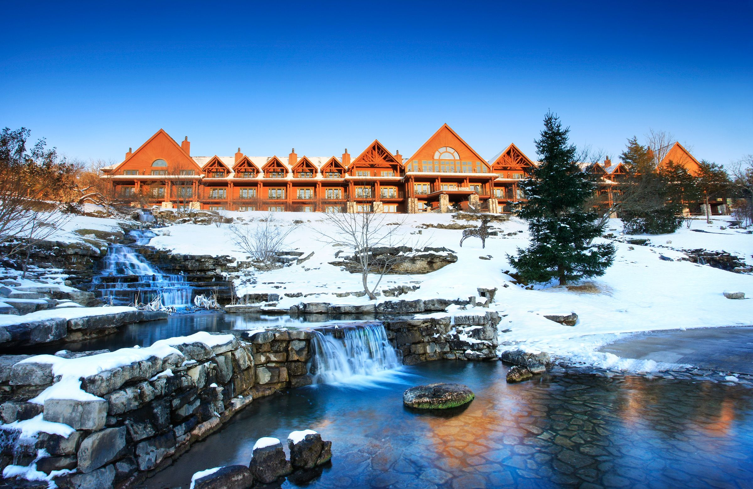 Big Cedar Christmas Branson missouri vacation, Holiday