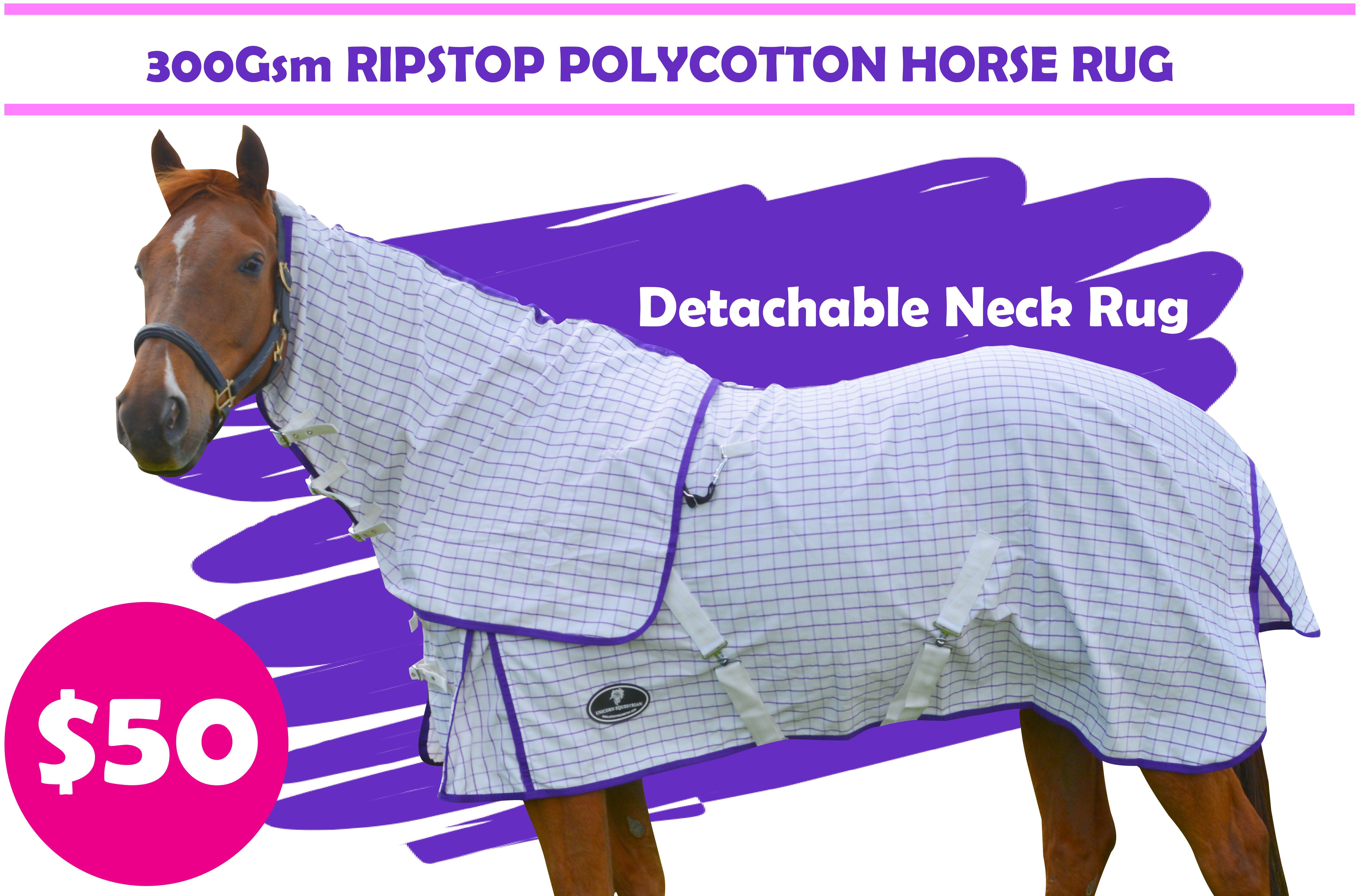 Desire Cotton Ripstop Purple Check