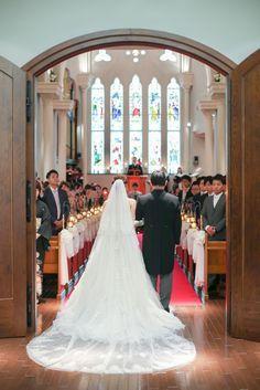 挙式入場シーン ウェディング 結婚式 写真 結婚式 フォト