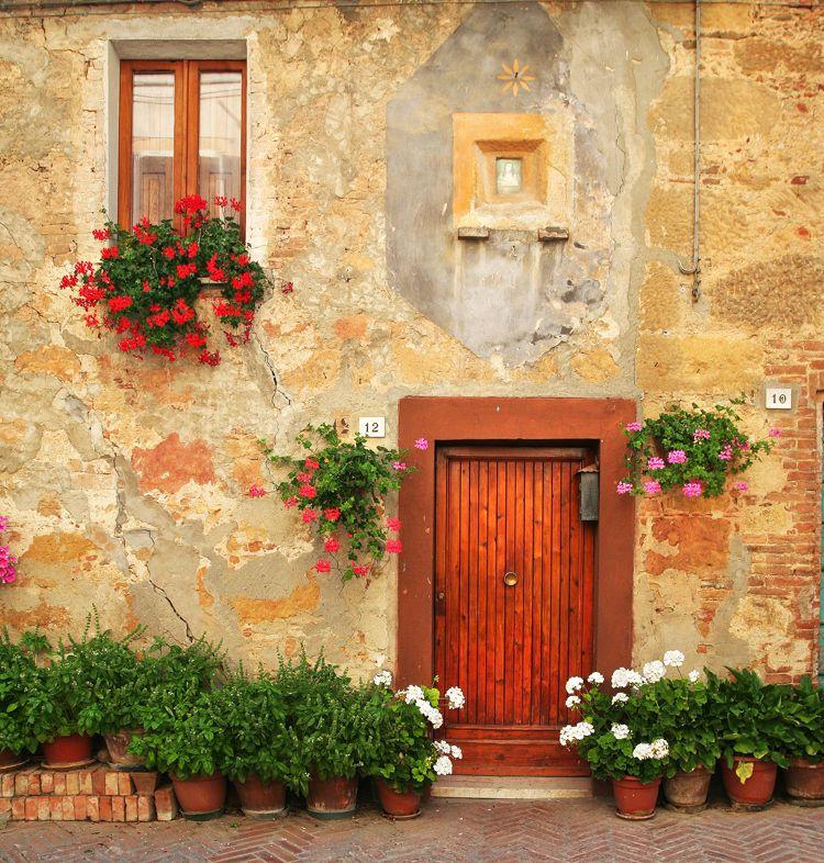 Wood Door In Tuscany, Italy (by Rami Athanasious Via 500px