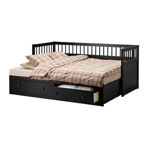 HEMNES Daybed frame IKEA Sofa, single bed, bed for two and storage in one piece of furniture