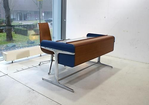 Action Office Desk Schreibtisch George Nelson Herman Miller