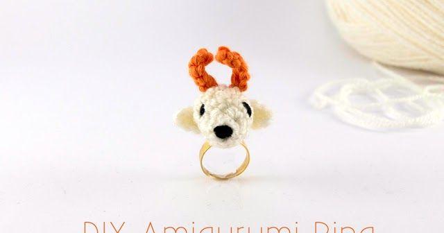 Amigurumi Häkeln Hirsch Ring Diy Blog Von Anastasia Crochet