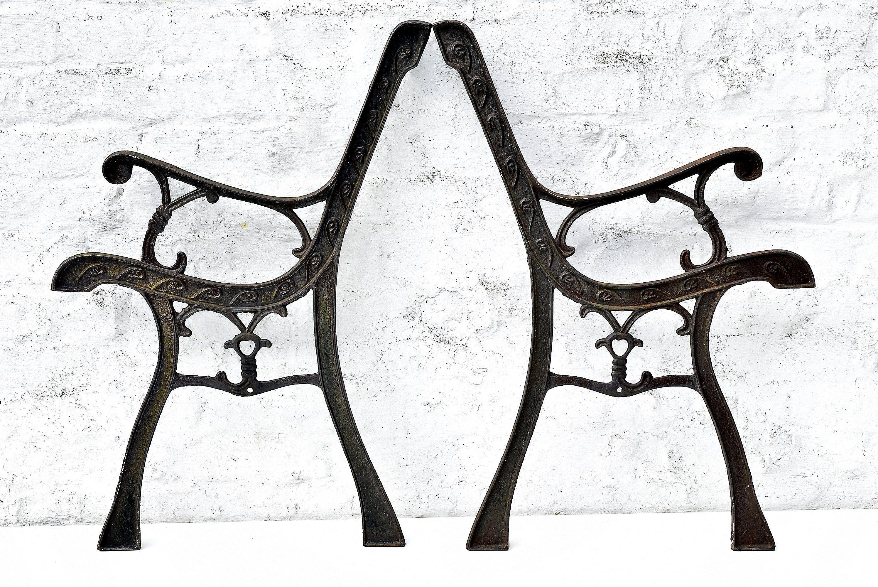 Fine Cast Iron Bench Ends Antique Garden Furniture Legs Ibusinesslaw Wood Chair Design Ideas Ibusinesslaworg