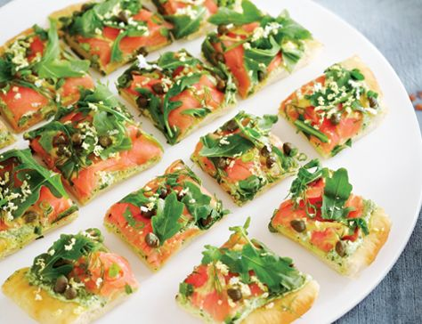 Smoked salmon capers starter recipes