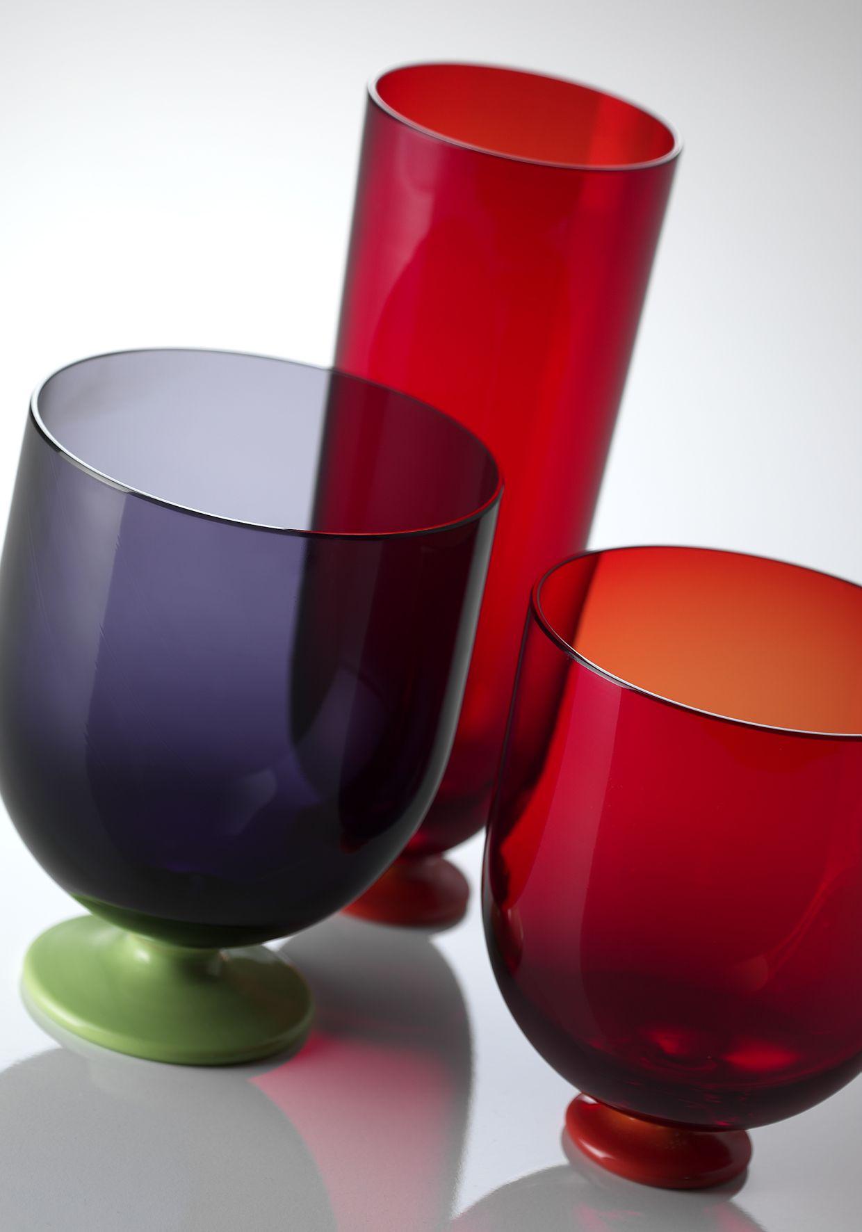 Idra Murano Glass Tumbler Green W 2019 Products Murano Glass Tableware I Tumbler