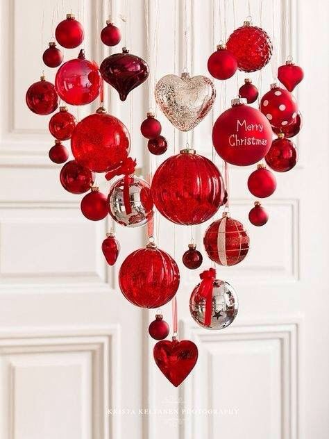 Christmas ball chandelier for ymmy pinterest xmas holidays christmas ball chandelier aloadofball Images