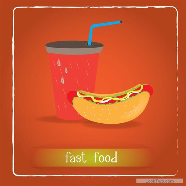 simlpe fast food poster template vector 11 free vector download