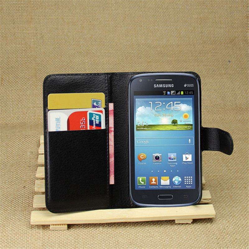 Luxury Retro Colorful Leather Wallet Flip Cover Case For Samsung ...
