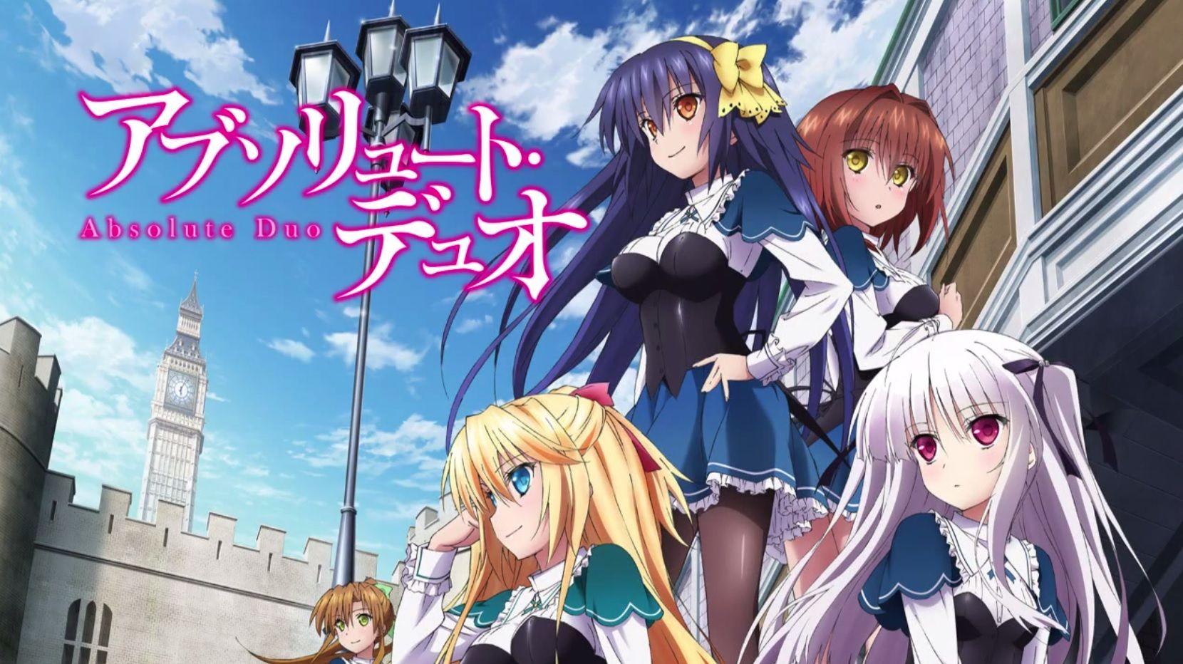Absolute Duo Vale ou não Vale ver Anime Reviews Anime