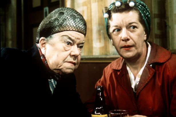 Ena and Hilda Ogden