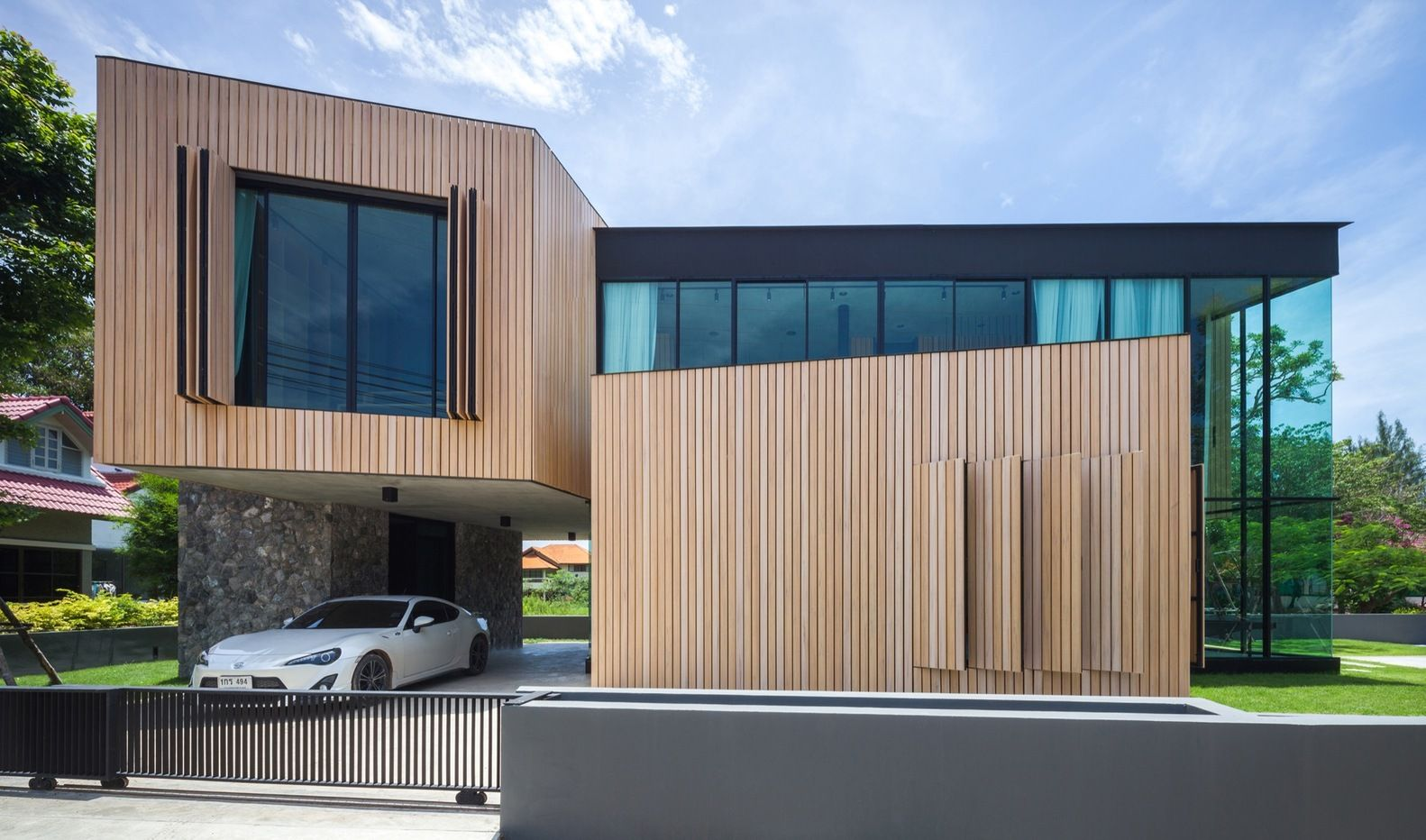 Gallery of T House / IDIN Architects - 26 | Moderne häuser ...