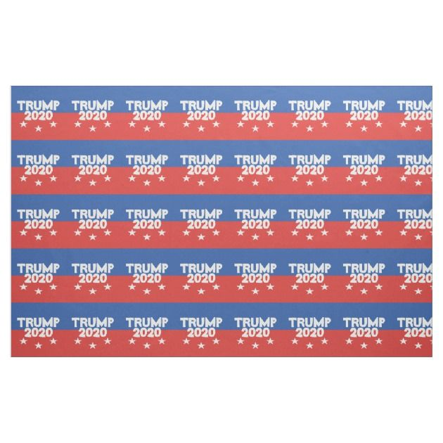 TRUMP 2020 Fabric Fabric, Printing on fabric, Custom fabric