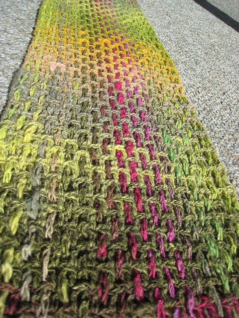 Noro Plaid Scarf by craftypants, via Flickr