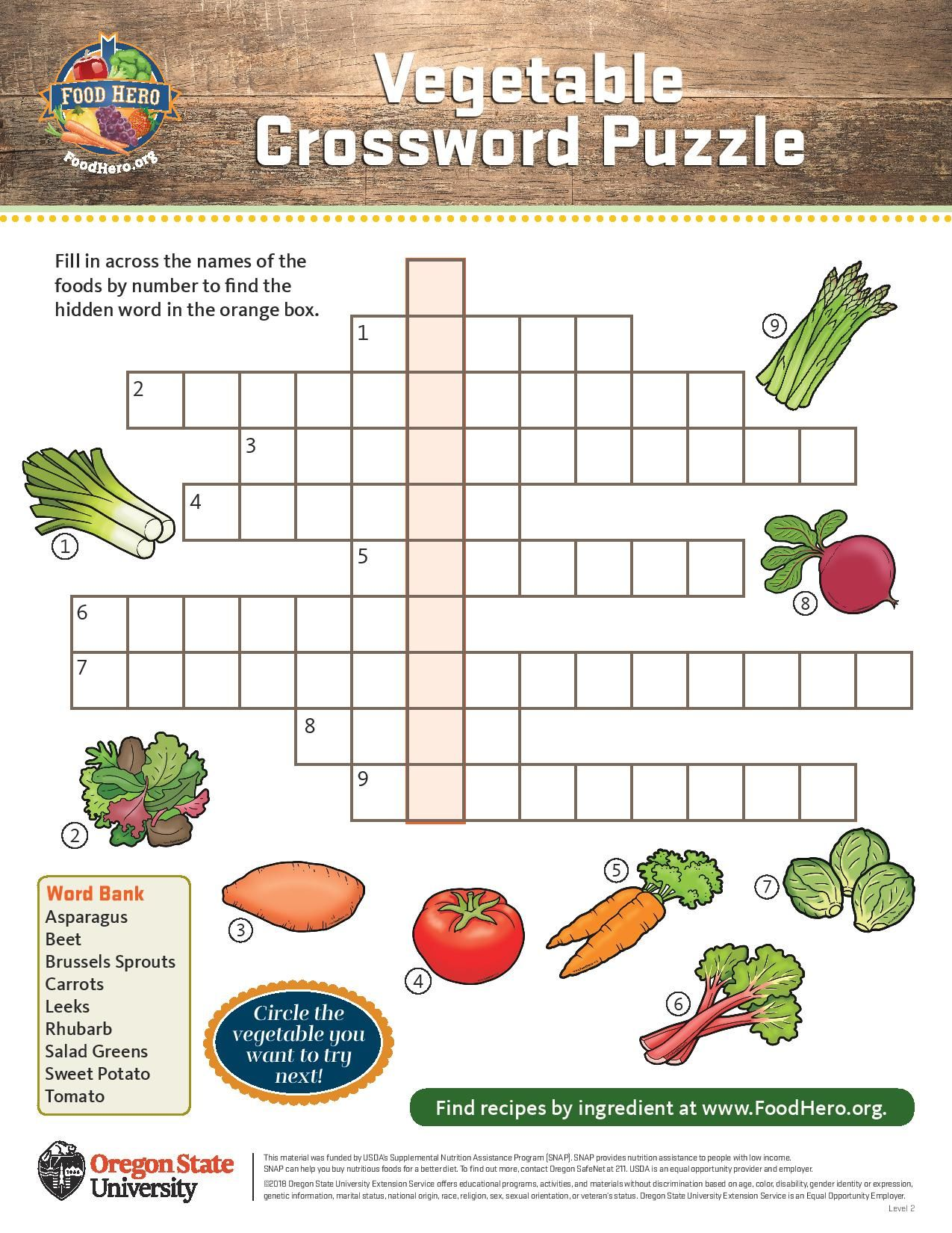 Pin By Food Hero Osu Extension On Coloring And Activity