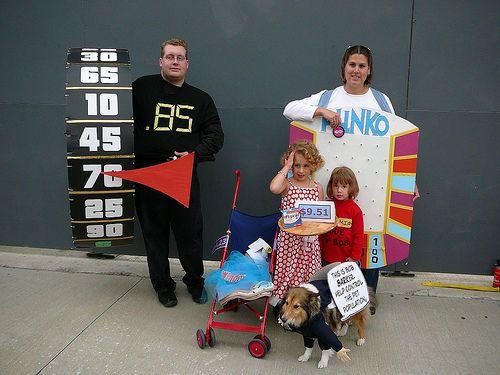 make a plinko prize board or costume - Board Games Halloween Costumes