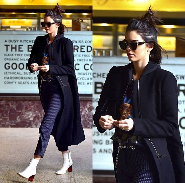 Kendall Nicole Jenner out and about in NYC (13 February 2017)