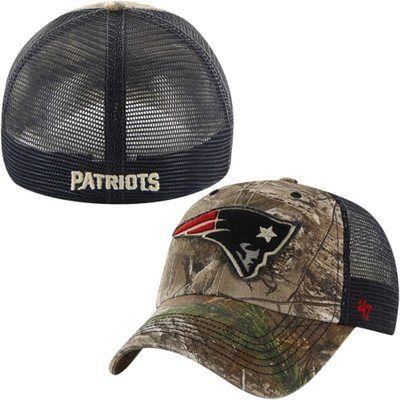 d4bb9c385 New England Patriots '47 Brand Huntsman Flex Hat – Navy Blue/Camouflage