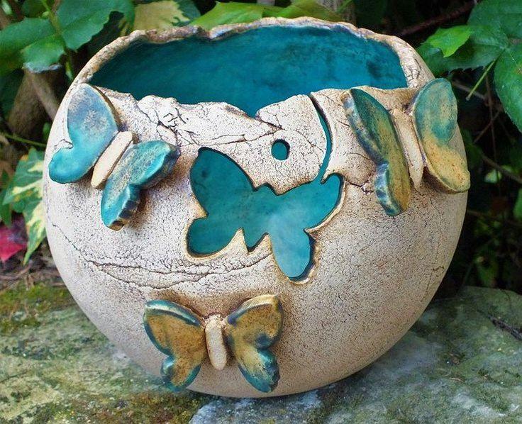 Bildergebnis fr tpfern ideen sommer  keramika  Pottery