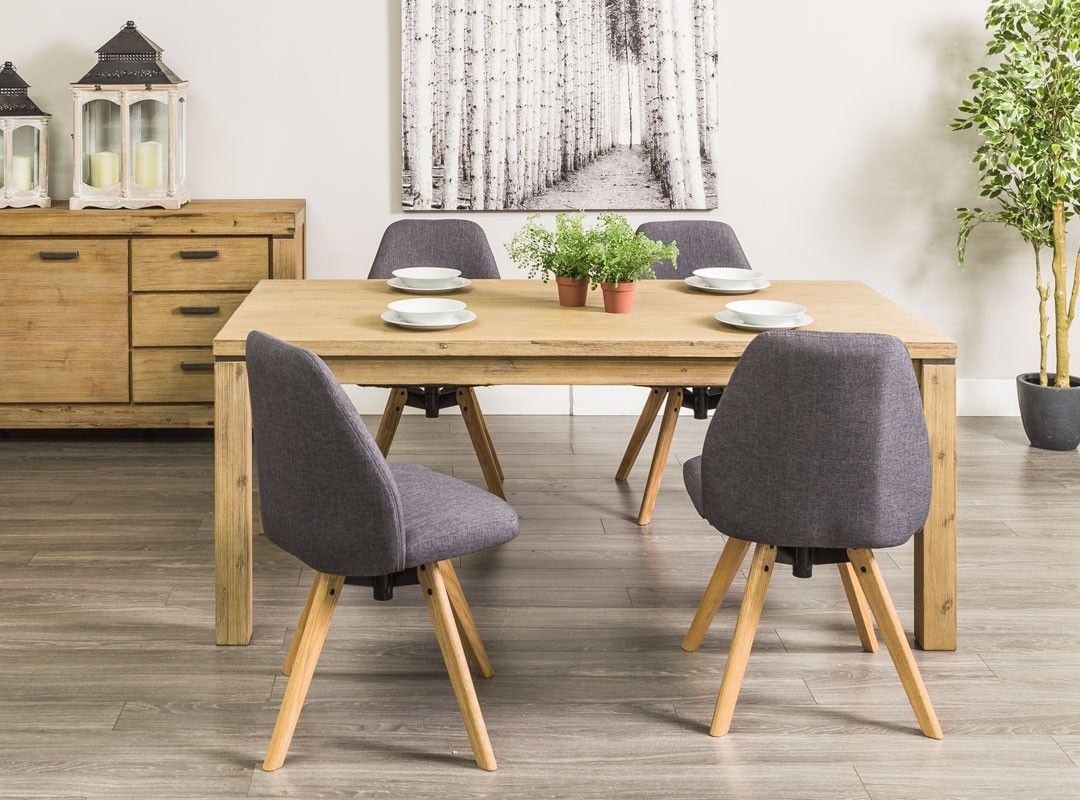 Verona Dining Table 4 Nacha Dining Chairs Dining Room Set  # Muebles Seys Verona