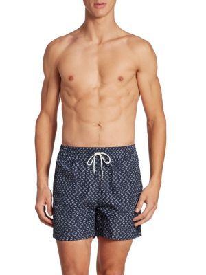 SALVATORE FERRAGAMO Rooster Printed Swim Shorts. #salvatoreferragamo #cloth #shorts