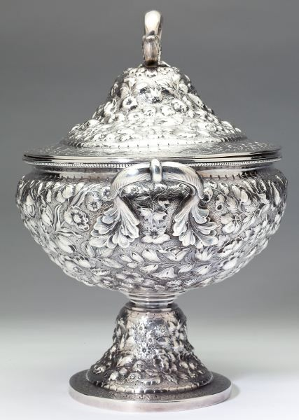 Lot # : 211 - Dominick & Haff Sterling Silver Soup Tureen