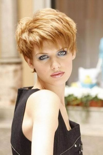 Short Pixie Hairstyles For Women With Long Face Shape Thick Hair Styles Short Hair Styles Short Hairstyles For Thick Hair