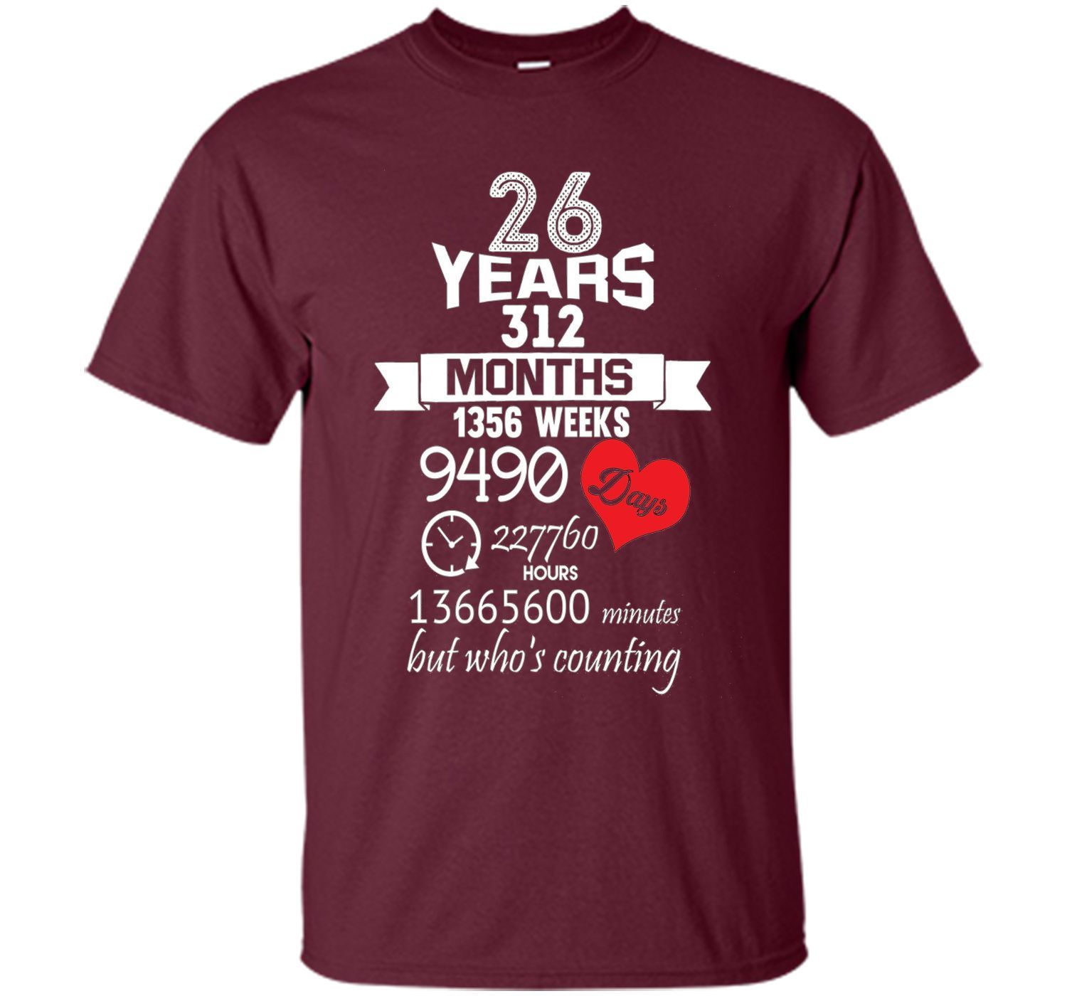 Anniversary Gift 26th 26 Years Wedding Marriage Ideas