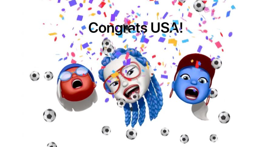 Apple creates Memoji tribute to US Women's World Cup