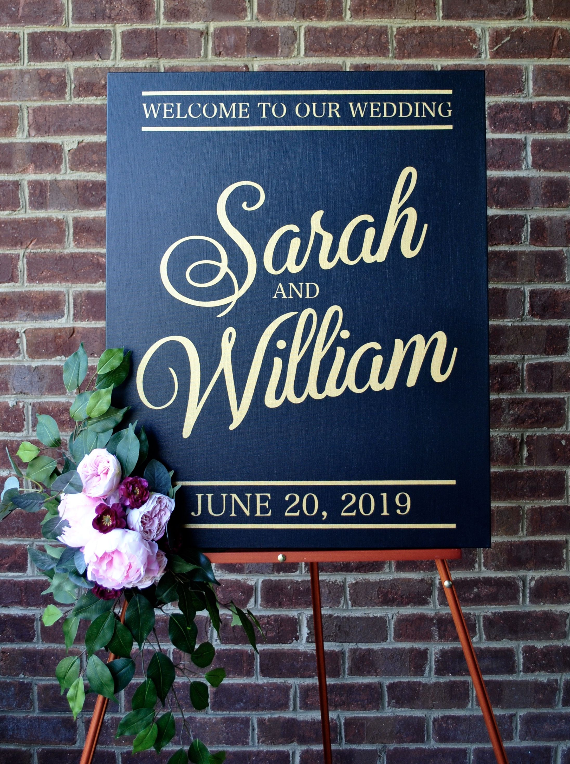 The Traditional Wedding Sign Wedding Signs in 2019