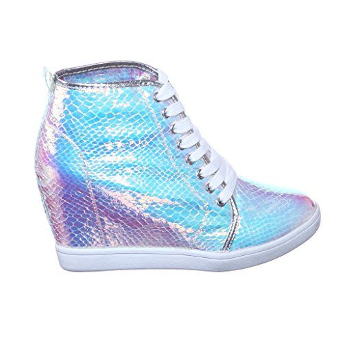 New! Metallic Glitter High TOP MED Wedge Heel Sneaker Ankle Bootie Boot (5.5, silver08) [Apparel] NB http://www.amazon.com/dp/B00MBD6AQ2/ref=cm_sw_r_pi_dp_Q17wvb1NW371P
