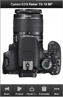Description Canon has unveiled the EOS T3i (known in Europe as the EOS 600D) upper entry-level DSLR. It continues to use the 18MP CMOS sensor seen in the Rebel T2i (550D) but gains a tilt and swivel 1,040k dot LCD monitor like the one offered on the more expensive 60D. It also gains the ability to remotely control flashguns using its internal flash, a feature previously only featured on higher-end models