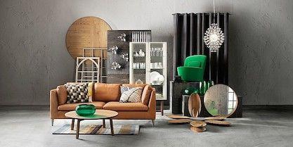 Skandinavisches Design Designer Mobel Messing Beistelltisch Modernes Design Minimalismus Design Mini Leder Wohnzimmer Ikea Ledersofa Einrichtungsstil