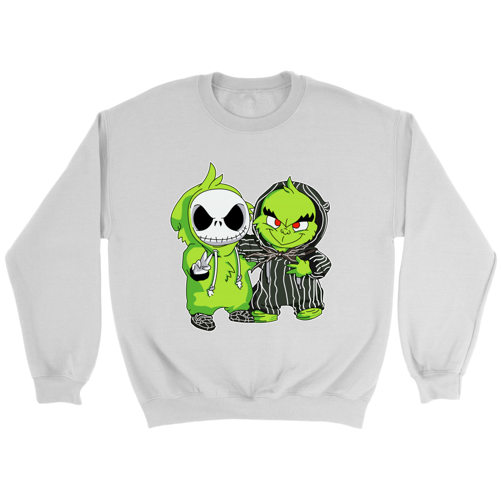 The Grinch Jack Skellington The Nightmare Before Christmas