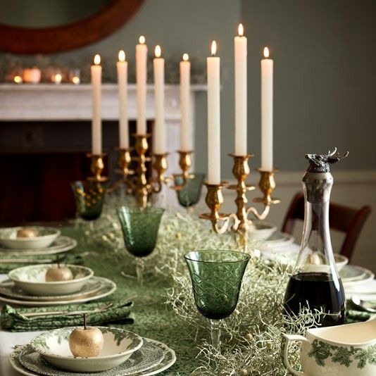 Buy Spode Ruskin House \u0027Wreath\u0027 Plate White / Green from our Plates range at John Lewis. Free Delivery on orders over & Ruskin House. Country House Christmas decorations. Dinner setting ...