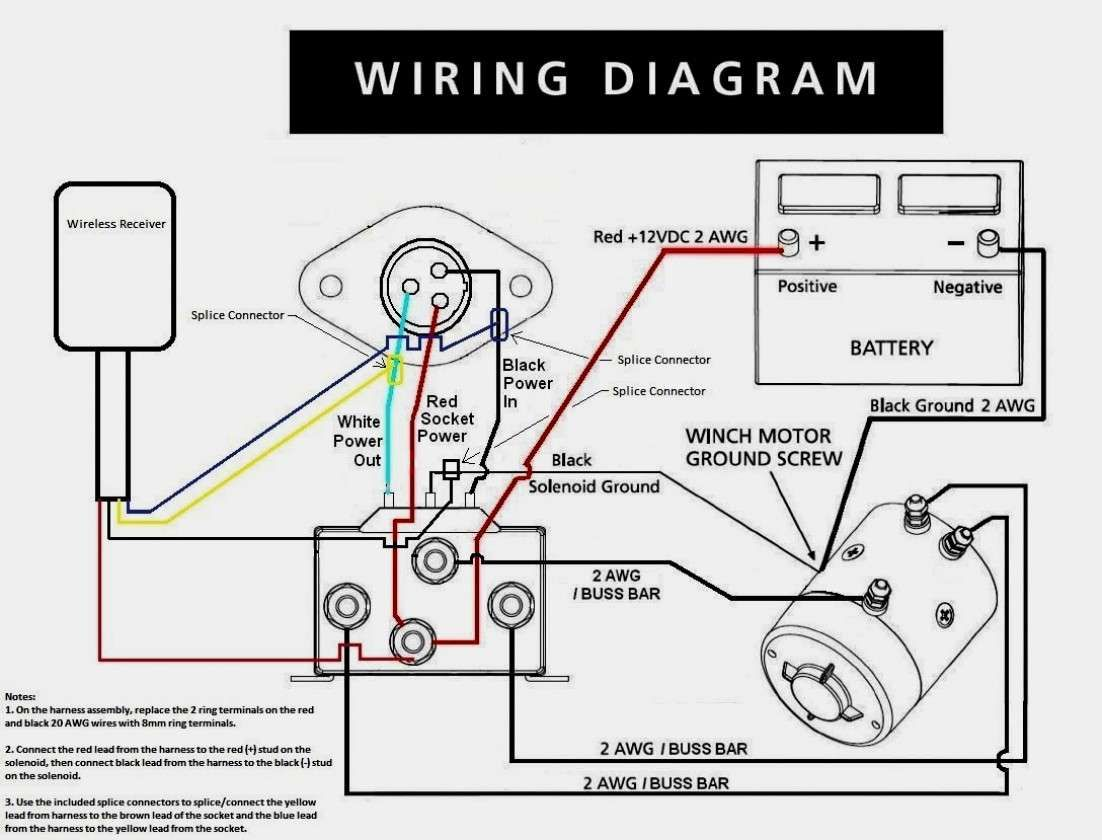 Wiring Diagram Electrical Wiring Diagram Electrical Winch Solenoid Electric Winch Winch