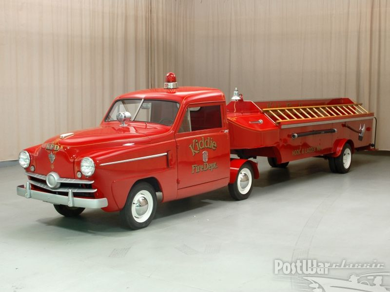 Crosley 1952 firetruck | Cars | Pinterest | Firetruck, Cars auto and ...