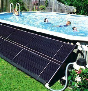 Solar Pool Heating Works By Pumping Cool Water From Your