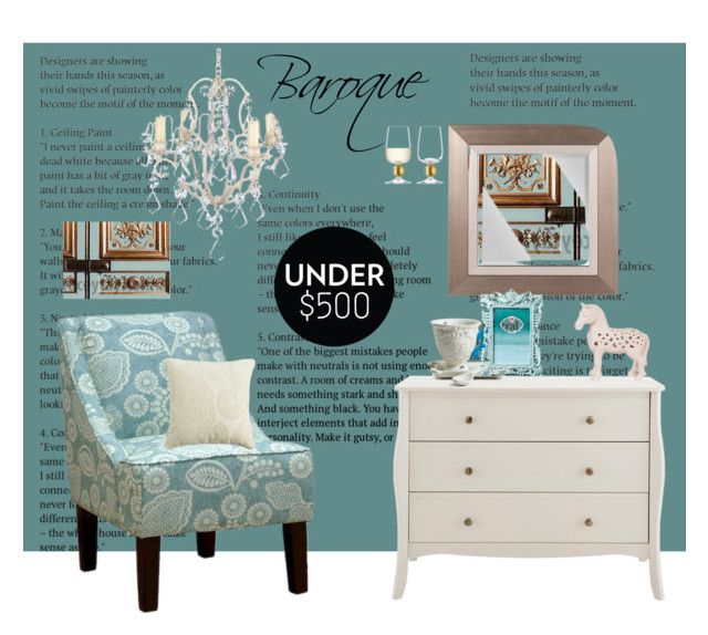 """""""Baroque"""" by kapua-blume ❤ liked on Polyvore featuring interior, interiors, interior design, home, home decor, interior decorating, Zingz & Thingz, Howard Elliott, Pier 1 Imports and Seletti"""