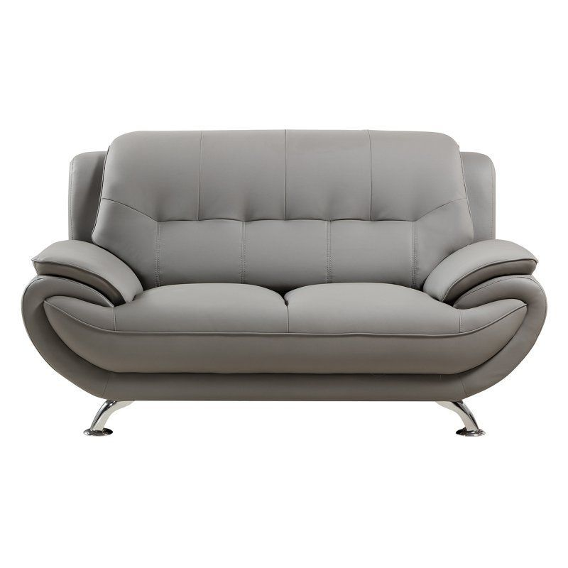 American Eagle Furniture Highland Home Loveseat Gray