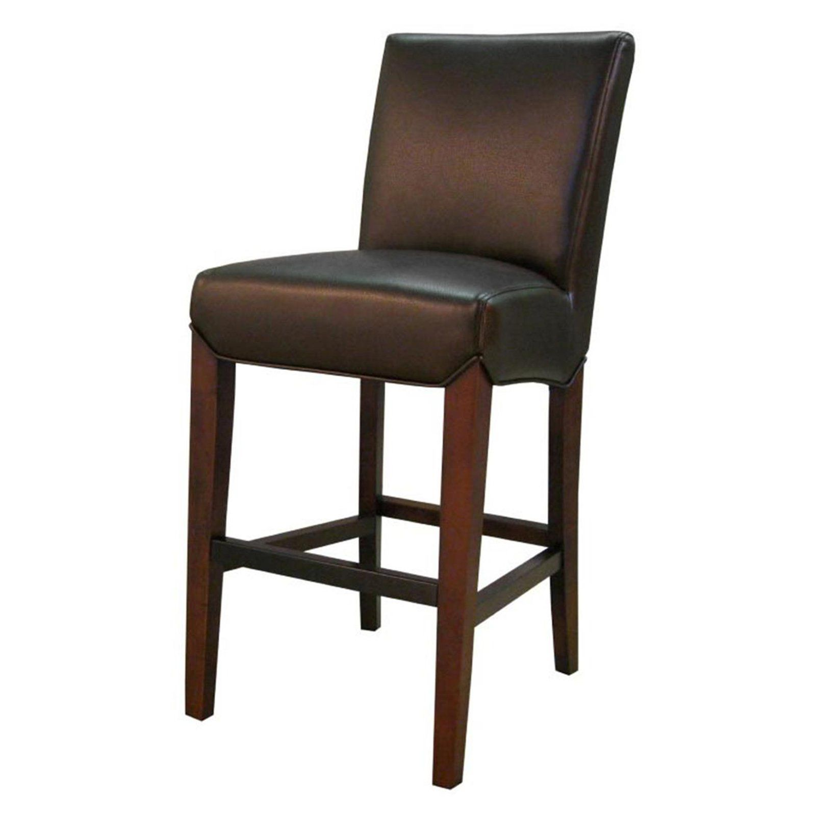 New Pacific Direct Inc Milton 26 In Bonded Leather Counter Stool
