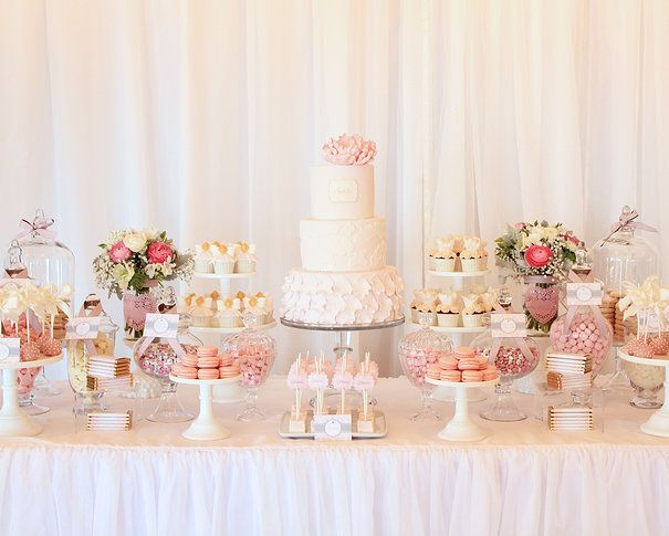 Gorgeous Sweets Table Wedding Dessert Table Wedding Desert Table Wedding Cake Table