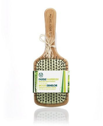Large Bamboo Hairbrush In 2020 Hair Brush The Body Shop Body Shop At Home