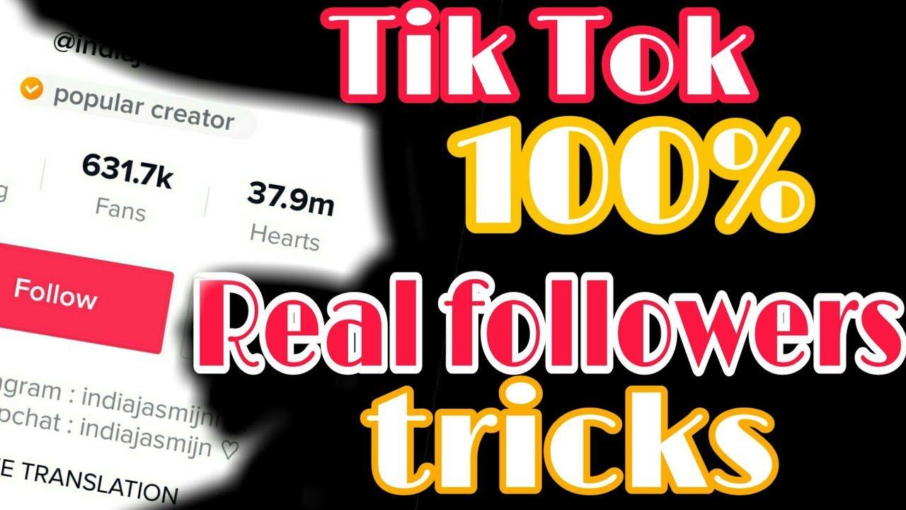 Free tiktok fans generator tik tok followers generator