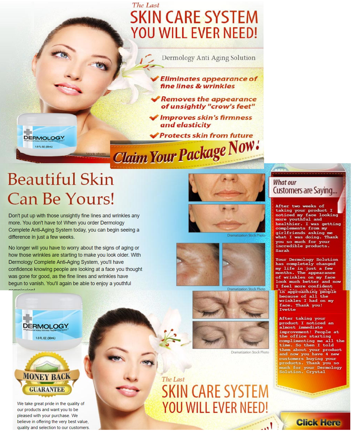 Anti Aging Solution By Dermology For Skin Care Anti Aging