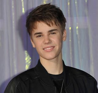 Cortes de cabelo do Justin Bieber.
