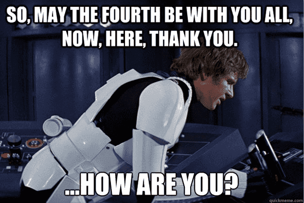 The 19 Best May The 4th Memes To Share On Facebook If You Love Star Wars Day Happy Star Wars Day Star Wars Memes Star Wars Humor