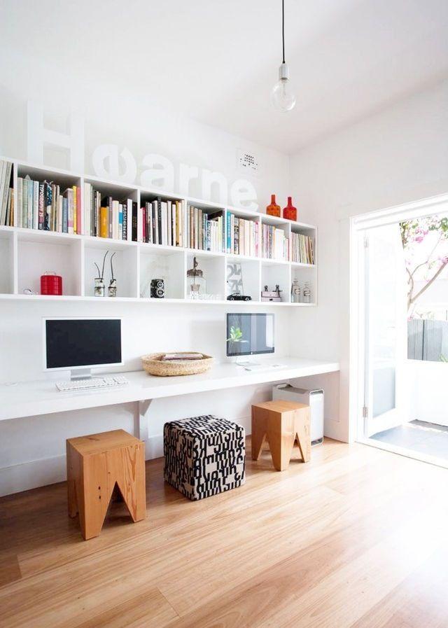 photo think decor minimalist decor pinterest arbeitszimmer schreibtisch and buero. Black Bedroom Furniture Sets. Home Design Ideas